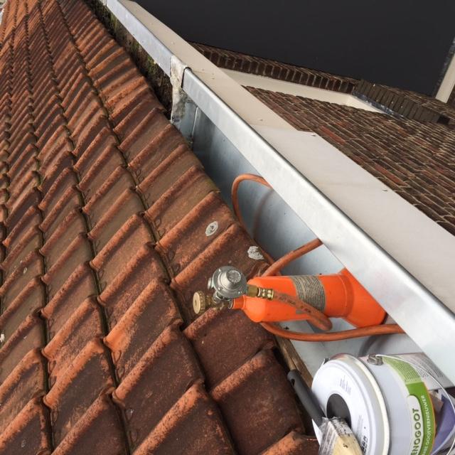 dakgoot renovatie dakdekkers