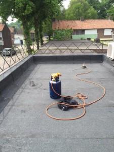 Bitumen Dakbedekking Bitumen Dakrenovatie Bitumineuze dakbedekkingen Kunstof dak Dakdekkersbedrijf Brabant Installatie Nederland Dakspecialist Daklekkages